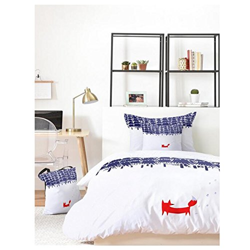 Red White Blue Boys Duvet Cover Set