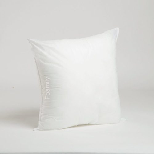 18 x 18 Premium Hypoallergenic Stuffer Pillow Insert Sham Square Form Polyester, Standard White - MADE IN USA
