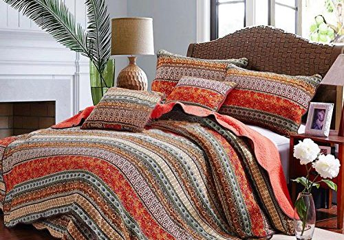 Go Bohemian Chic with this Bohemian Queen, Boho Bedding Sets