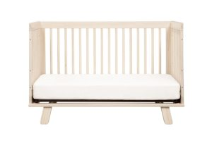 Babyletto Hudson 3-in-1 Convertible Crib to Toddler Bed, Washed natural