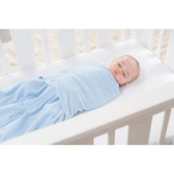 Best Baby Swaddle - HALO SleepSack Micro-Fleece Swaddle, Baby Blue, Small