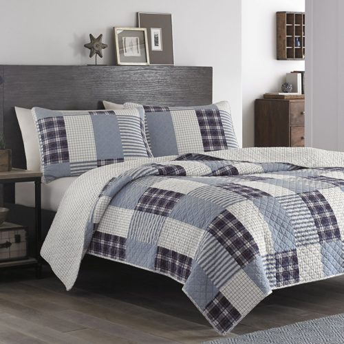 Eddie Bauer Camano Island Plum Quilt Set, King - Best Rated Eddie Bauer Quilt Set