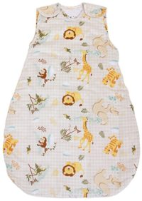 Baby Sleeping Bag with Animal Pattern, 2.5 Tog's Winter Model (Large (22 mos - 3T))