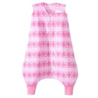 HALO SleepSack Early Walker Micro Fleece Wearable Blanket, Pink Butterfly Ombre, X-Large