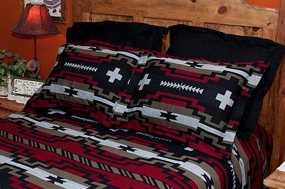 Native American Style Bed Spread -Laguna KING