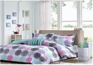 teen bedding set, girls' comforter set
