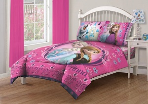 disney frozen girls bedding set