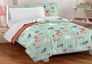 woodland boys' bedding set, woodland boys' comforter set