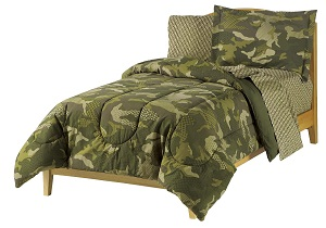 camo army boys' bedding set, camo army boys' comforter set