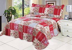 English Roses Quilt set bedding set, comforter set