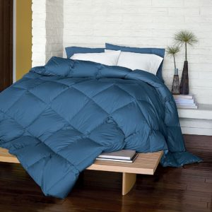 LaCrosse Primaloft Comforter, Light Warmth, King, Copen Blue