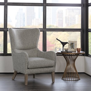 Madison Park FPF18-0429 Arianna Swoop Wing Chair ac32