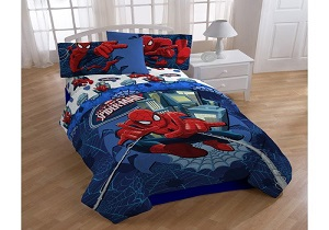 Spiderman boys' bedding set, spiderman boys' comforter set