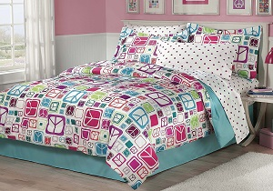 girls' comforter set
