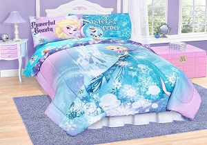 girls' bedding set, comforter set