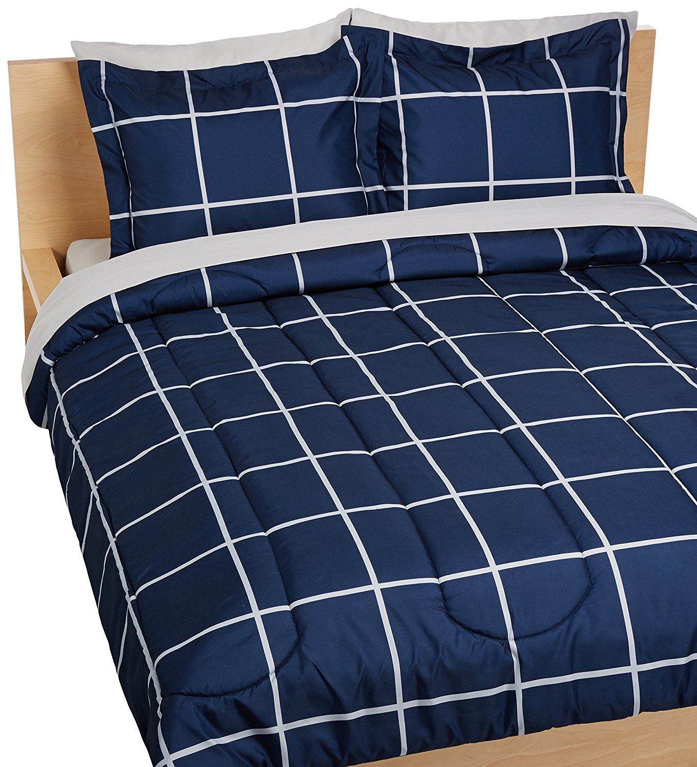 AmazonBasics Bed in a Bag Bedding 7 Piece Bed In A Bag