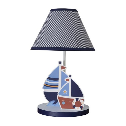 Red White Blue Sail Away Lamp
