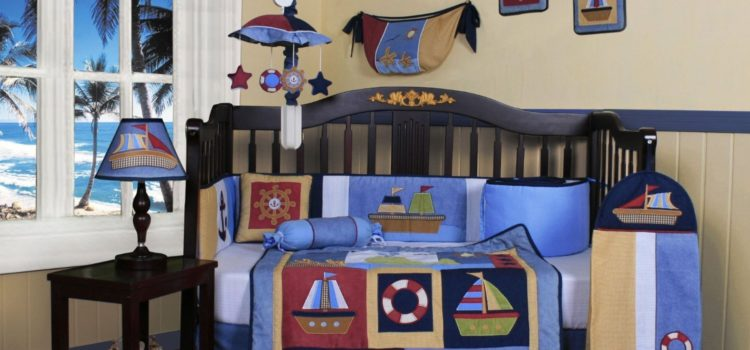 Red White Blue Boys Bedding
