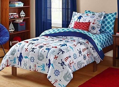 Red White Blue Boy Bedding Bed in a Bag