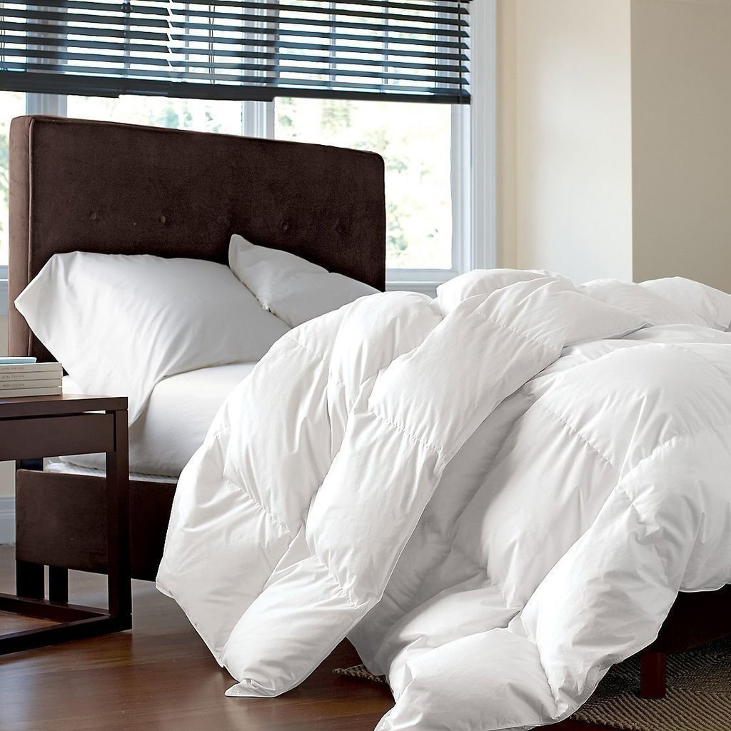 Best White Goose Down Comforter And Luxurious Comfy Bedding