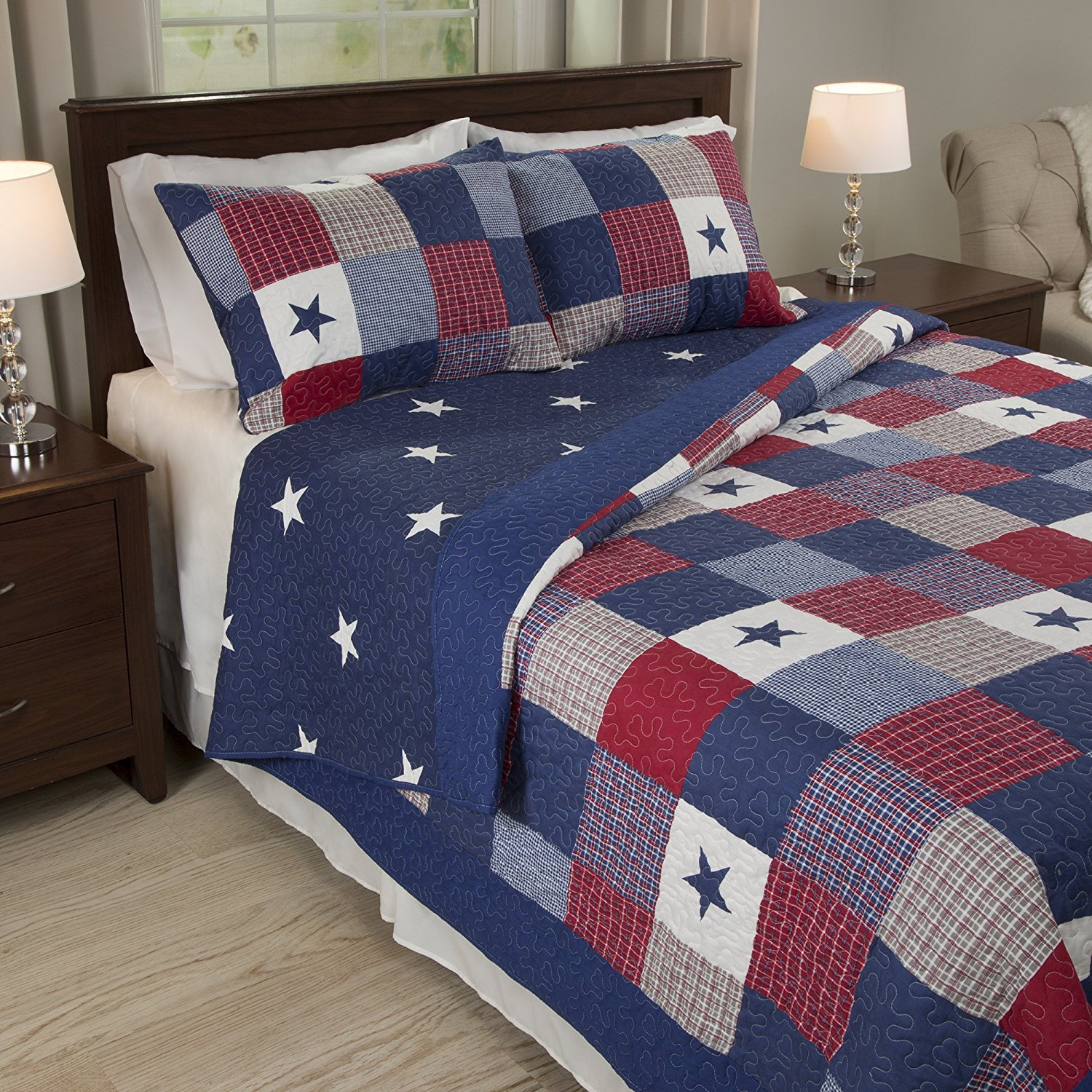 Red White Blue Bedding Amp Comforter Set Abstract Color