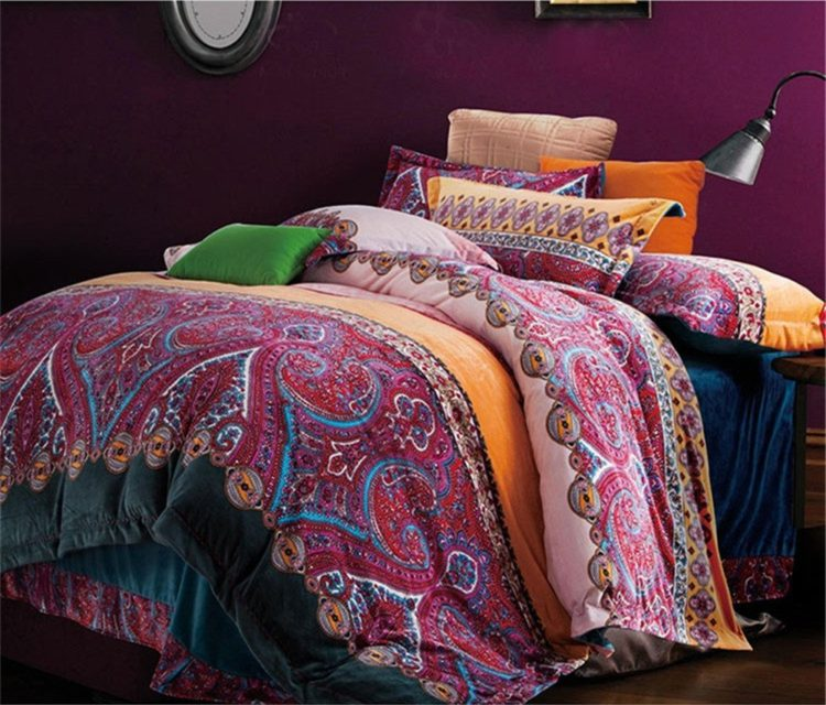 Boho Style Bedding Set, Bohemian bedding set, Bohemian comforter set, Boho Duvet Cover Set, Bohemian Bedding Set, Bohemian Queen