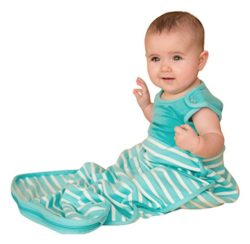 ANTIPODES MERINO Wool Sleep Bag – Premium Baby Sleeping Sack – All Season (Aqua)