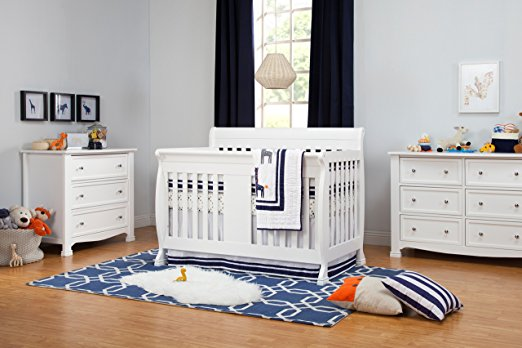 DaVinci Kalani 4-in-1 Convertible Crib - Best Cribs for Babies and Safest Crib on the Market