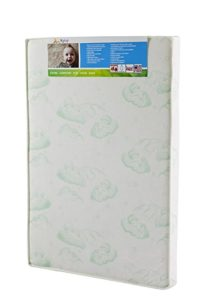 Dream On Me Playard Mattress, White