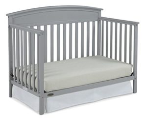 Graco Benton Convertible Crib to a Toddler Bed, Pebble Gray