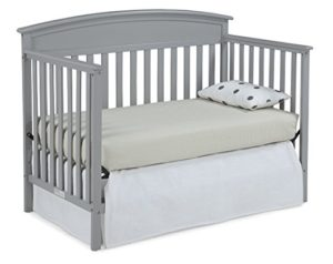 Graco Benton Convertible Crib Toddler Bed, Pebble Gray