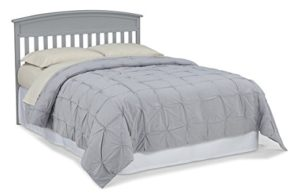 Graco Benton Convertible Crib to Full Size Bed, Pebble Gray