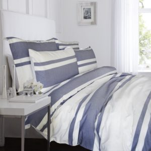 Merryfeel 100% cotton yarn dyed Duvet Cover Set - Full-Queen