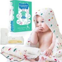 Muslin Swaddle Blankets Unisex for Boys and Girls, Baby Washcloths Set