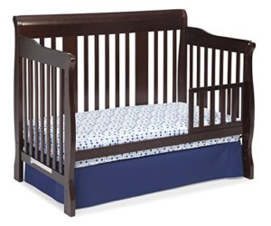 Stork Craft Tuscany 4-in-1 Convertible Crib Day Bed, Espresso