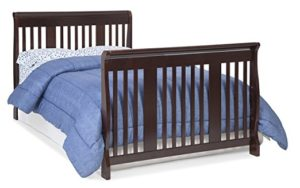 Stork Craft Tuscany 4-in-1 Convertible Crib to Full Size Bed, Espresso
