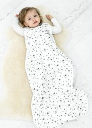 Woolino 4 Season Baby Sleep Bag - Merino Wool - 2 Month - 2 Years - Stars