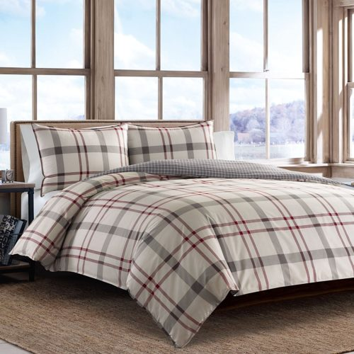 Eddie Bauer 215782 Portage Bay Comforter Set, King