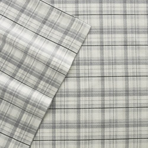 Eddie Bauer 216279 Beacon Hill Twin Flannel Sheet Set
