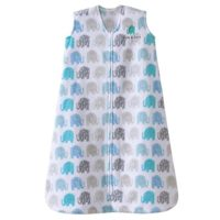 Halo Sleepsack, Micro-fleece, Elephant Texture, Gray, Large