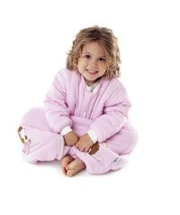 SlumberSafe Bamboo Winter Sleeping Bag with Feet 3.5 Tog Pink Hedgehog 12-18 months