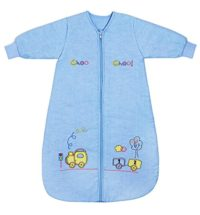 Slumbersafe Winter Sleeping Bag Long Sleeves 3.5 Tog Choo Choo 6-18 mth MEDIUM