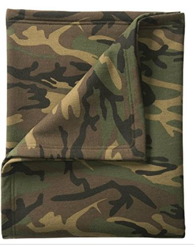 "Joe's USA Soft & Cozy 50"" x 60"" Sweatshirt Blankets in 14 Different Colors"