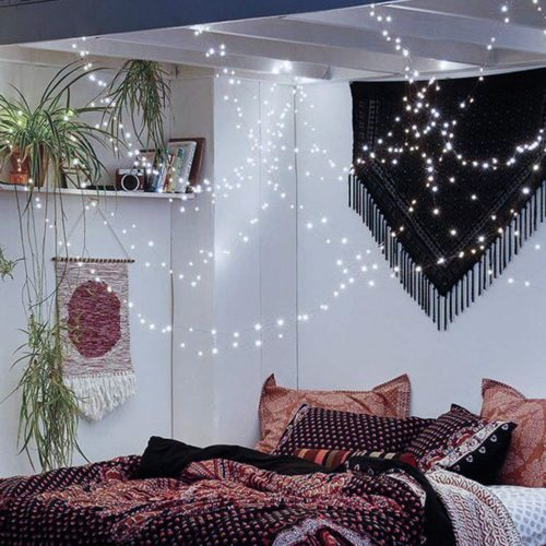 LED String Lights, CrazyFire Fairy String Light 33ft 100 LEDs Waterproof Decorative Starry Lights for Bedroom, Patio, Parties ( Copper Wire Lights, Cool White )