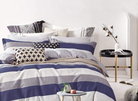 Modern Striped Bedding Set