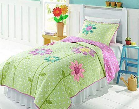 Pink And Green Bedding Sets