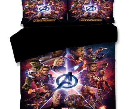 Marvel Avengers Bedding Set For Kids
