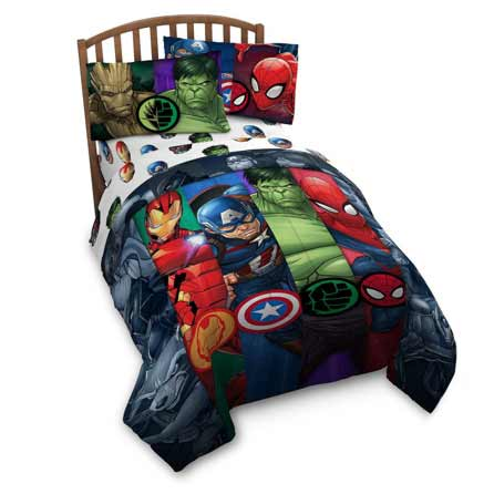 Franco Avengers Infinity War Twin Comforter and Sheet Set at Lux Comfy Bedding