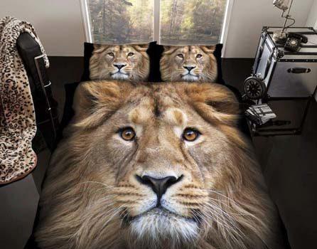 African Safari Print Bedding