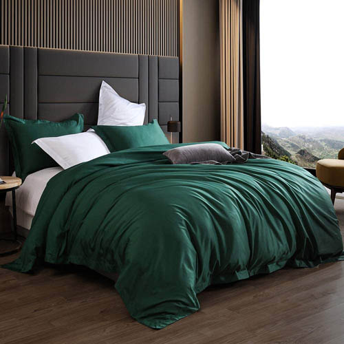 Emerald Green Bedding & Matching Curtains | Bedding, Comforter
